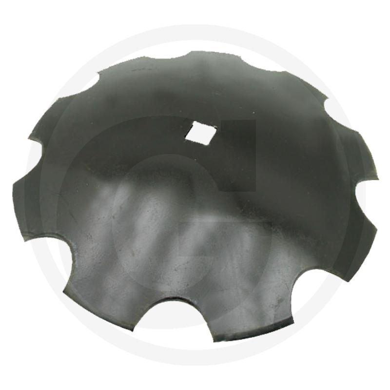 Tanierové disky ozubené na štvorhrannú hriadeľ