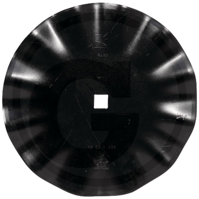 Klenuté tanierové disky na štvorhrannú hriadeľ
