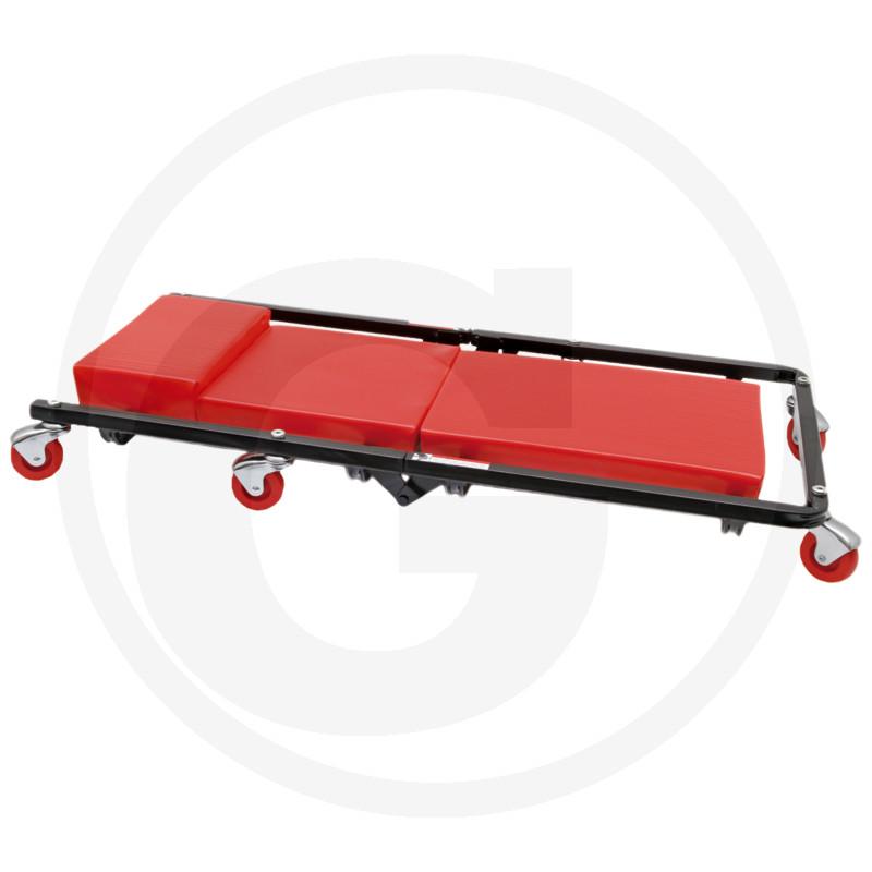 Pojazdné montážne ležadlo