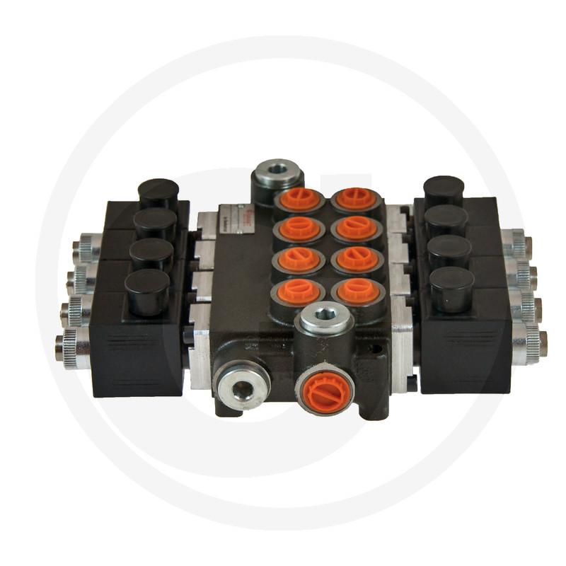 Elektricky ovládané rozvádzače 12V, 80 l/min