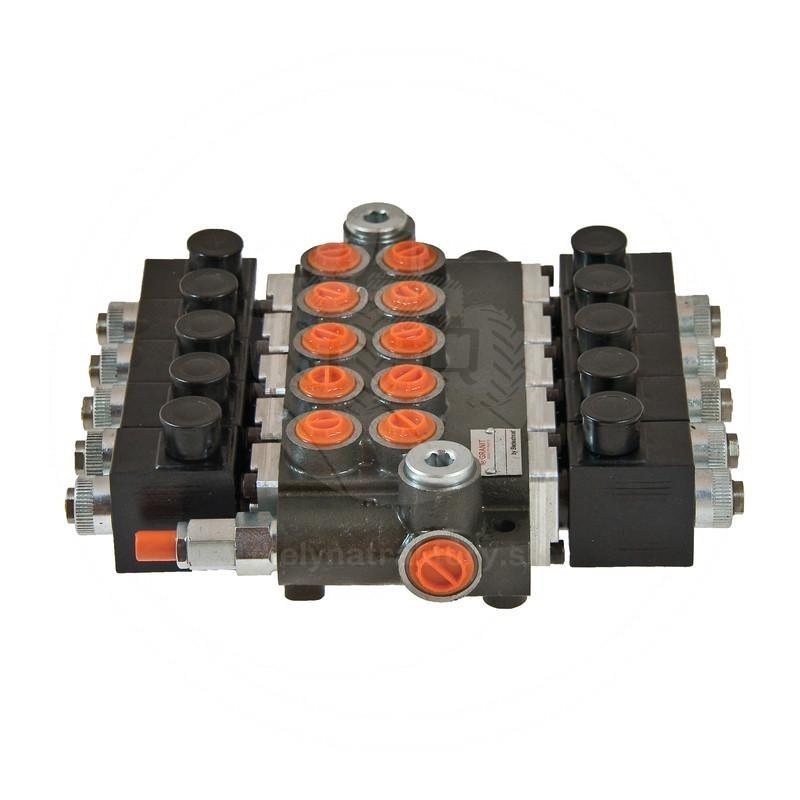 Elektricky ovládané rozvádzače 24V, 80 l/min