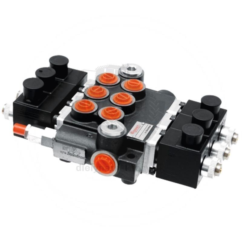 Elektricky ovládané rozvádzače 24V, 40 l/min