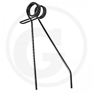 Pružné pero 5,5 mm