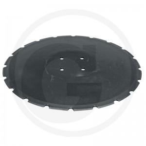 Ozubený disk Ø 455, Ø dier 12,5 mm