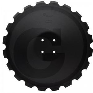 Ozubený disk Ø 540, priemer dier Ø 13 mm