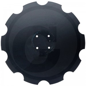 Ozubený disk Ø 580 mm, Ø dier 12,5 mm