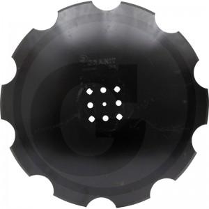 Ozubený disk Ø 510 mm, priemer dier Ø 15 mm