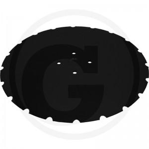 Ozubený disk Ø 470, Ø dier 12,5 mm