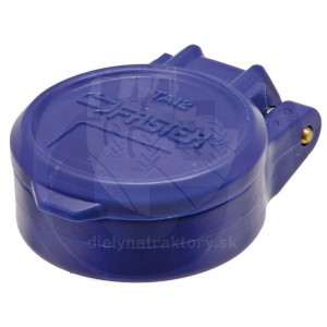 Protiprachové viečko modré KM DN12-BG3 s aretáciou