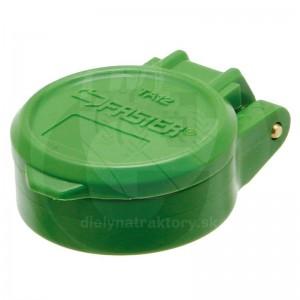Protiprachové viečko zelené KM DN12-BG3 s aretáciou