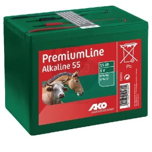 AKO batéria 9V 55 Ah alkalická