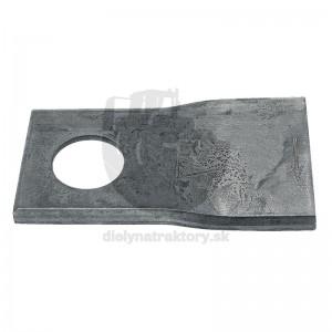 Nôž typ 6 pravý, 115 x 47 mm, Ø 19 mm, balenie 25 ks