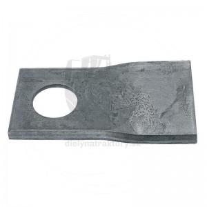 Nôž typ 3 pravý, 100 x 48 mm, Ø 19 mm, balenie 25 ks