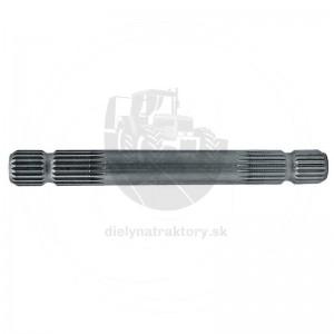 """Profilová hriadeľ 1 3/8"""" Z6, 350 mm"""