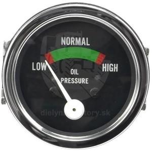 Budík tlaku oleja