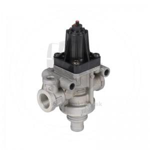 Wabco regulátor tlaku, vypínací tlak 7,3 bar bez pripojenia pre hustenie pneumatík