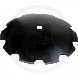 Ozubený disk Ø 710, priemer stredovej diery Ø 45 mm