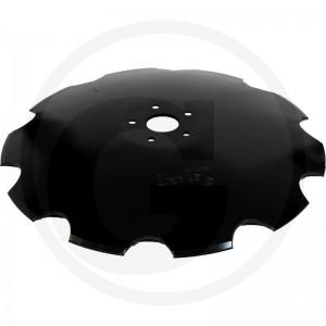 Ozubený disk Ø 610, priemer dier Ø 13,5 mm