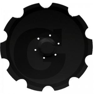 Ozubený disk Ø 736, rozmer dier 12,5x12,5 mm