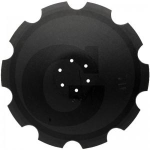 Ozubený disk Ø 620 mm, Ø dier 13 mm