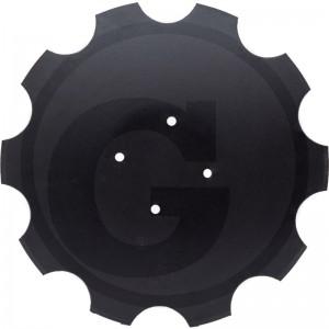 Ozubený disk Ø 460 mm, priemer dier Ø 11,5 mm