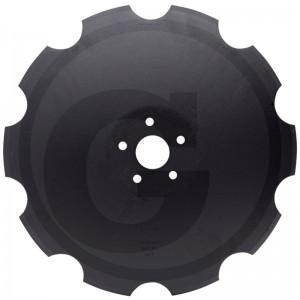 Ozubený disk Ø 558, priemer dier Ø 15 mm