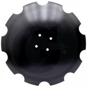 Ozubený disk Ø 610, rozmer dier 13,5x13,5 mm