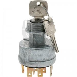 Spínač zapaľovania 12V s kľúčikom
