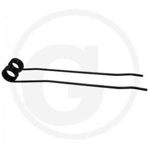 Pero obracača (zhrňovača), pravé typ 1