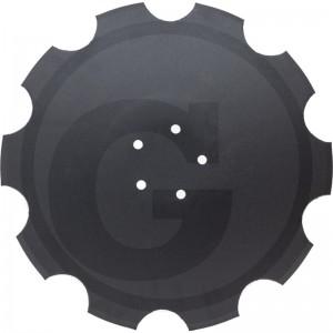 Ozubený disk Ø 520, priemer dier Ø 13,5 mm