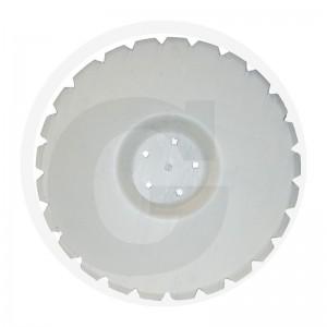 Ozubený disk Ø 560, rozmer dier 12,5x12,5 mm