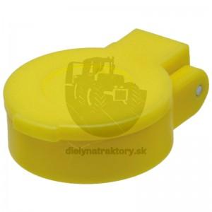 Protiprachové viečko žlté KM DN12-BG3 bez aretácie
