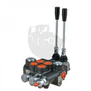 Hydraulický rozvádzač 120l, dvojpákový