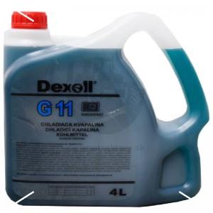 Dexoll Antifreeze G11 - modrý 4L