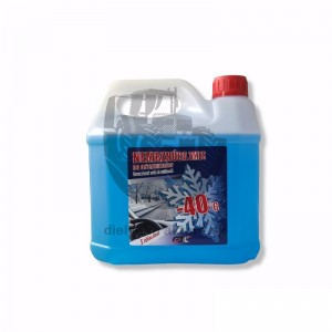Nemrznúca voda do ostrekovačov -40°C 3L s vôňou ovocia