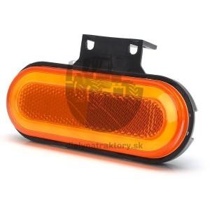 Bočné polohové obdĺžnikové LED svetlo 12 - 24 V