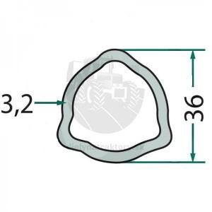Profilová trubka P4 talianský profil