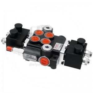 Rozvádzač dojsekciový 24V, 40 l/min