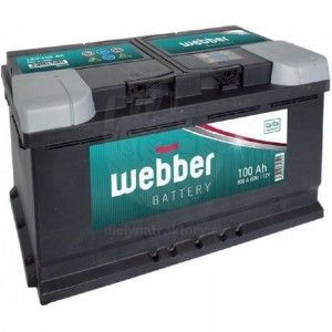 WEBBER 12V/85 Ah